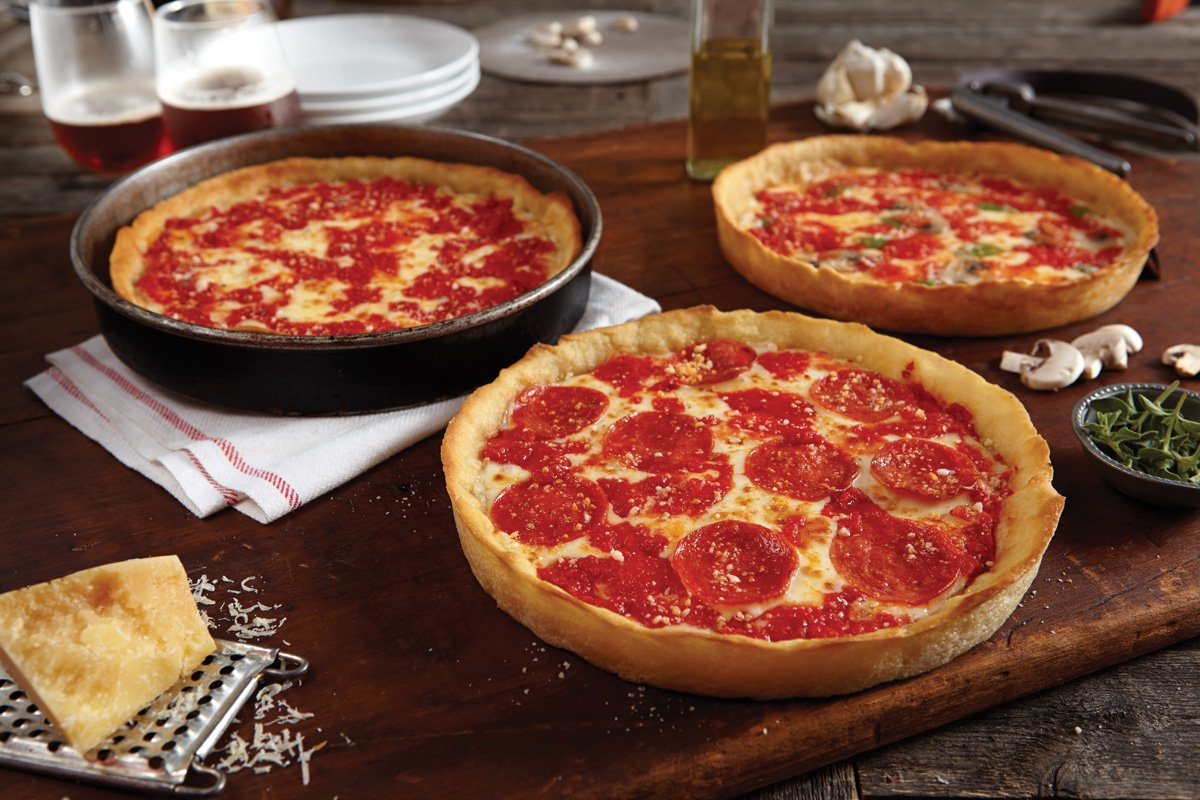 6 Lou Malnati's Chicago-style Deep Dish Pizzas (6 Cheese)