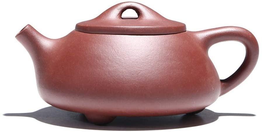 SHENLIJUAN teapot ore purple debris scoop pot 200 ml Tea Set Corporate Gifts (Color : Purple mud)