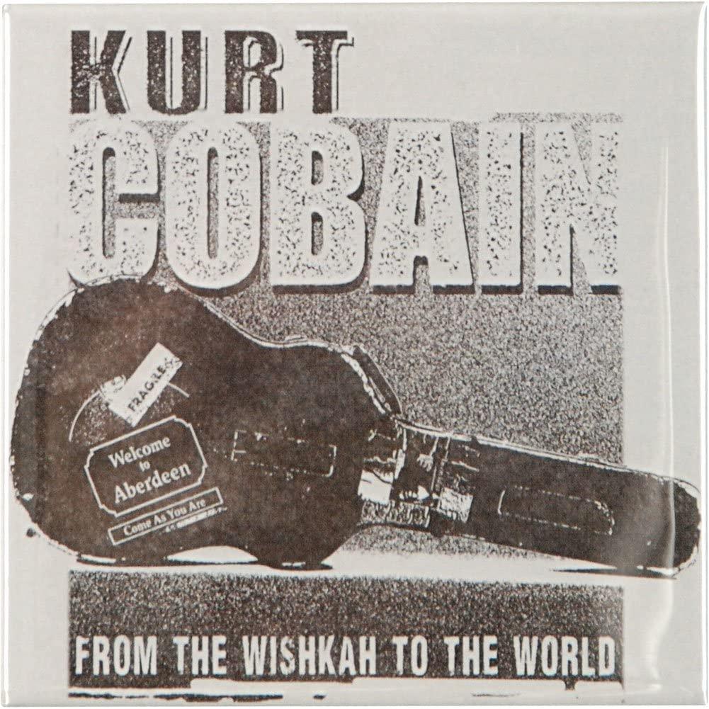 COBAIN KURT Guitar Case, Officially Licensed Original Artwork, 3