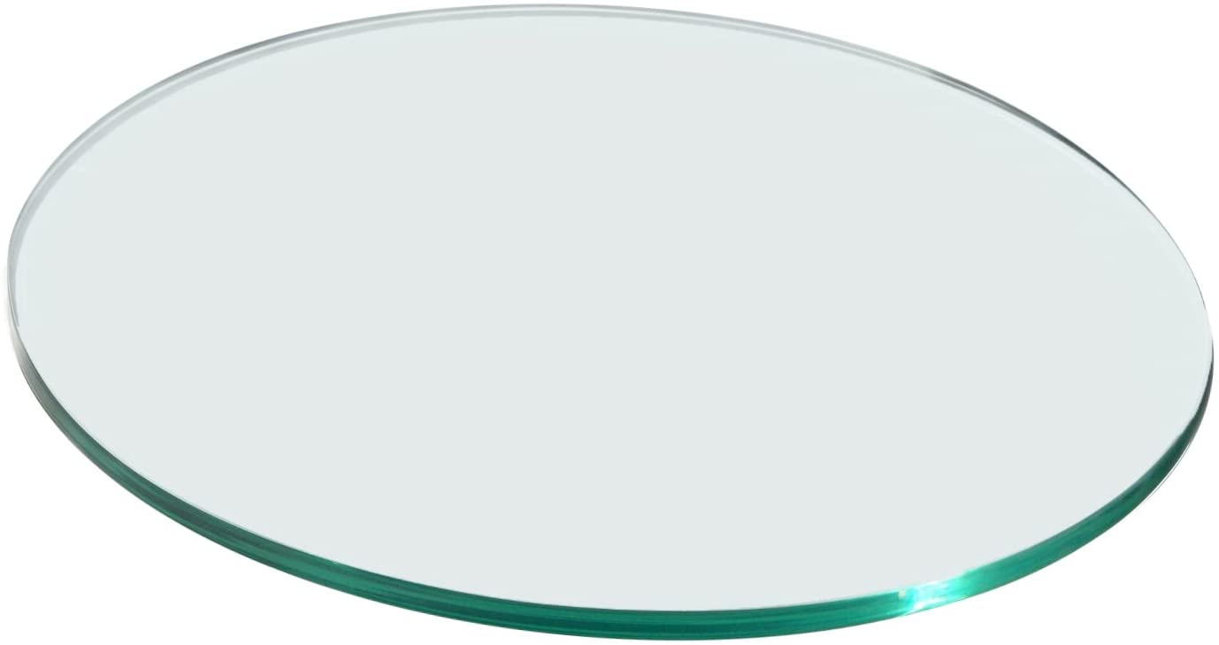 Rosseto SG025 Round Surface Acrylic Platter, 20-Inch, Clear