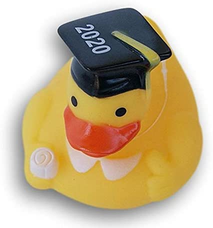 2020 Graduation Rubber Duck