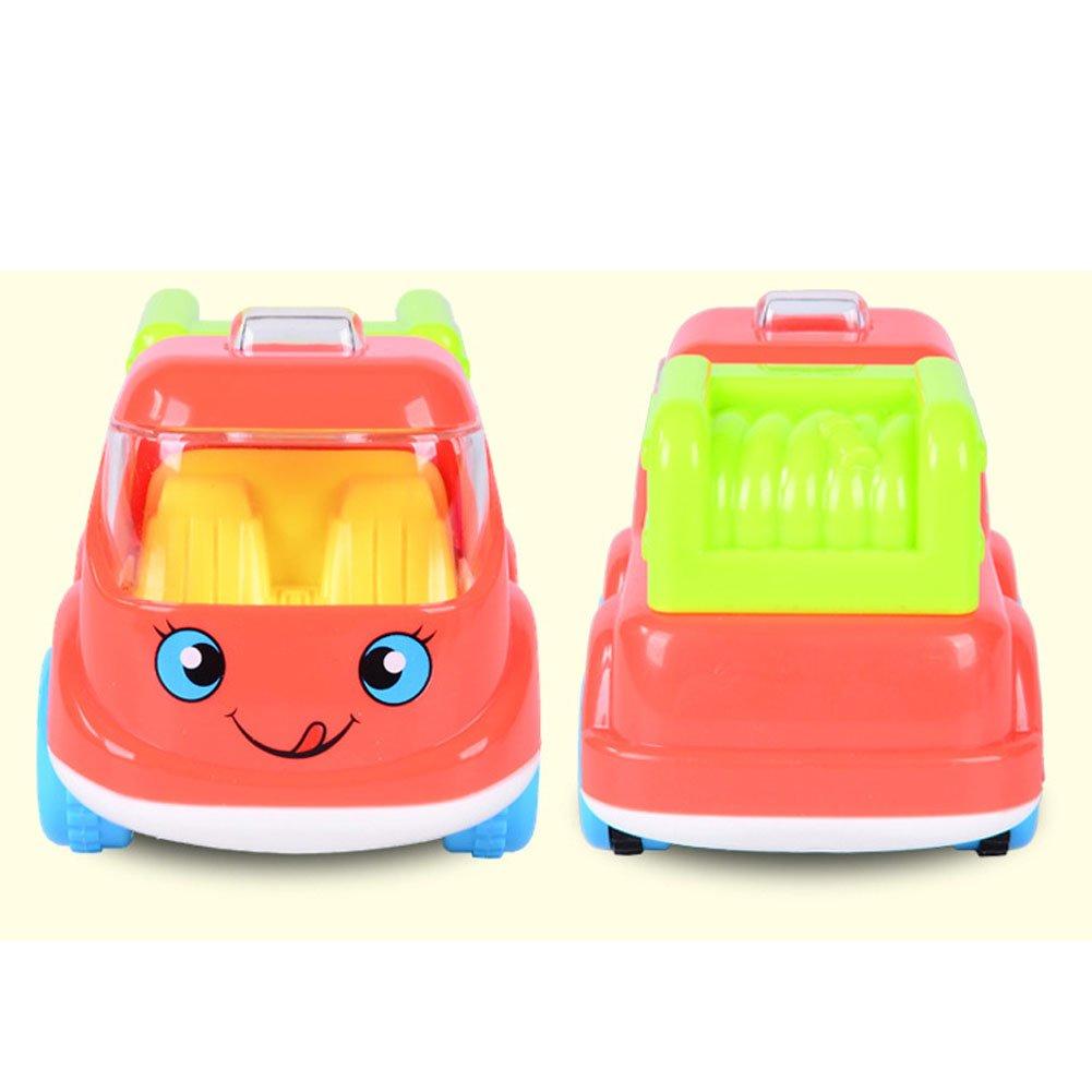 Ziyier G&E: Kids Pull back GOGO Fire Fighting Vehicles Series (Fire Sprinkler Vehicle)