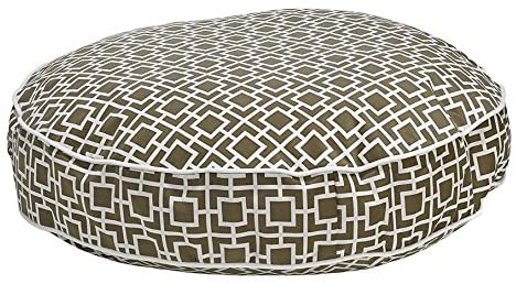 Bowsers Super Soft Round Bed, Medium, Courtyard Taupe