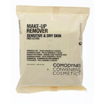 Comodynes Oats Facial Make Up Remover Sensitive& Dry Skin ,20 pcs. by Comodynes