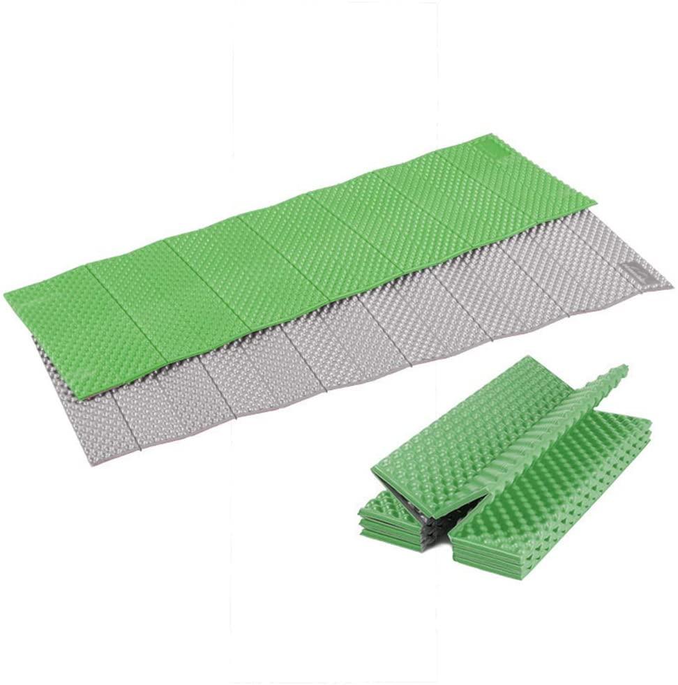 XIAOMEI Closed Cell Foam Camping Sleeping Pad,Wide Ultralight Folding Sleeping Mat,Compact Outdoors Mattress for Hiking Backpacking