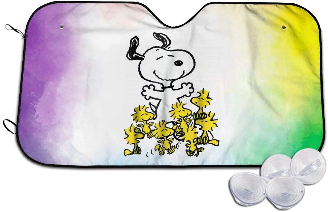 Kemeicle Snoopy Chick Party Car Sunshades Visor Cover Sun Shades Shield