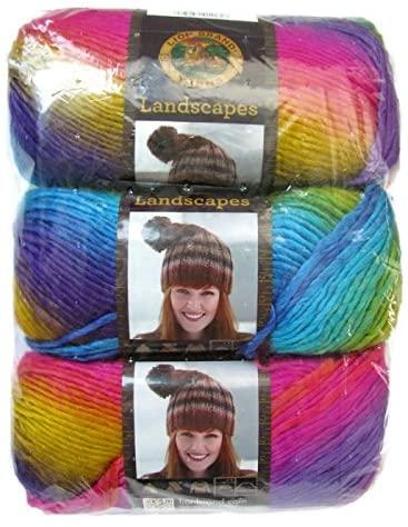 Lion Brand Yarn Landscapes Yarn (3-Pack) (Boardwalk 545-201)