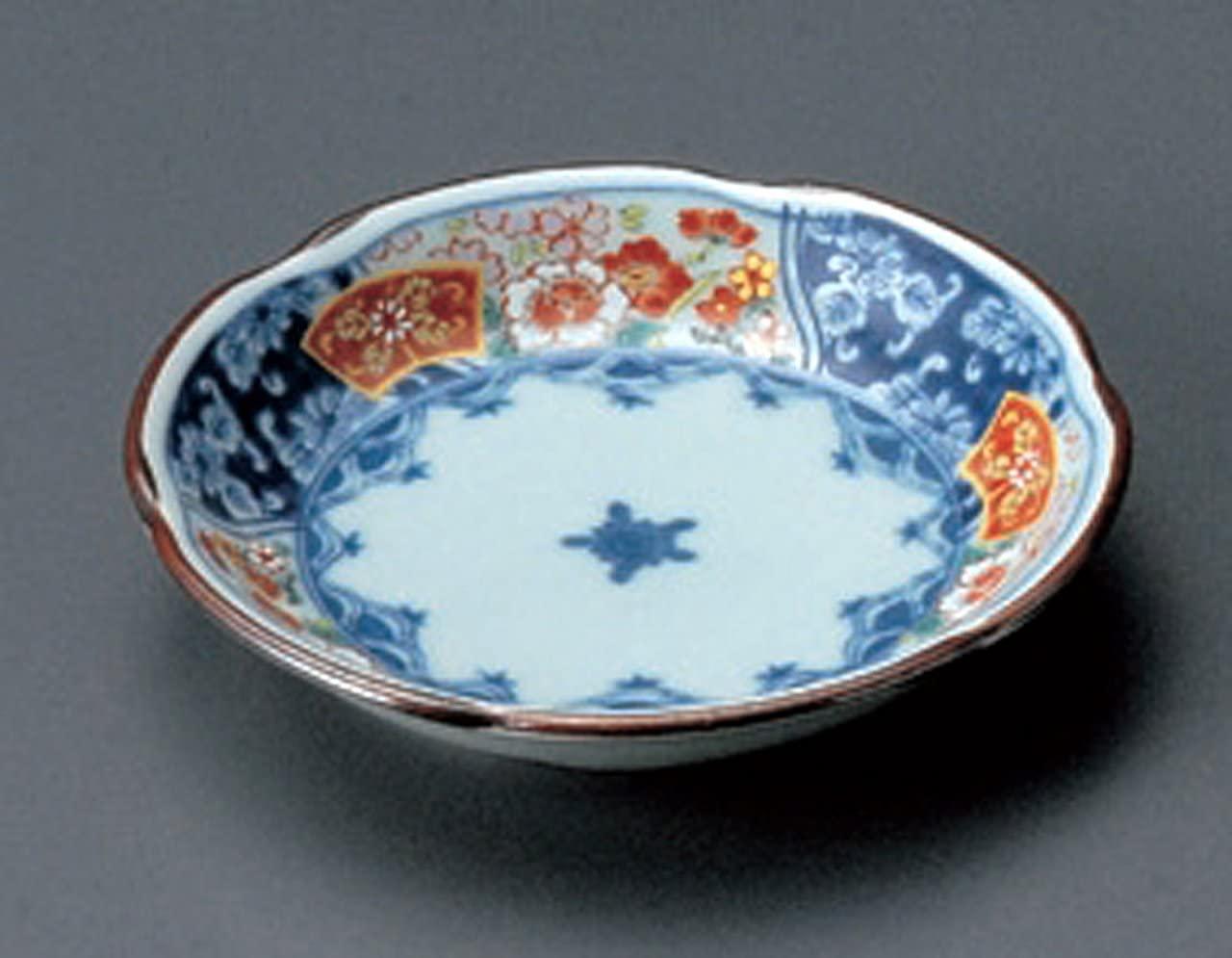 ARITA-YAKI SOME-NISHIKI Jiki Japanese Porcelain Set of 2 Small Plates