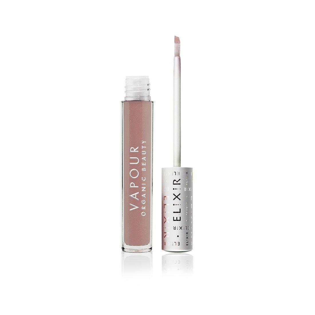 Vapour Organic Beauty Elixir Lip Gloss, Discreet-Light Warm Pink Nude, 0.13 Ounce