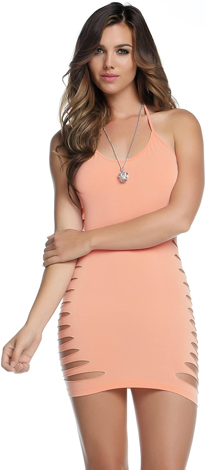 Blvd Collection by Forplay Women's Elise Halter Bodycon Dress
