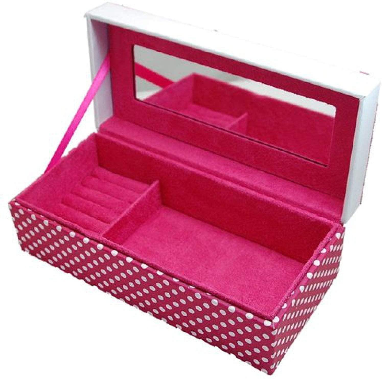 Mele Ladies - Girls Pink Polka Dot