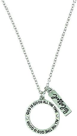 God is Good All The Time Ring Pendant - 6/pk