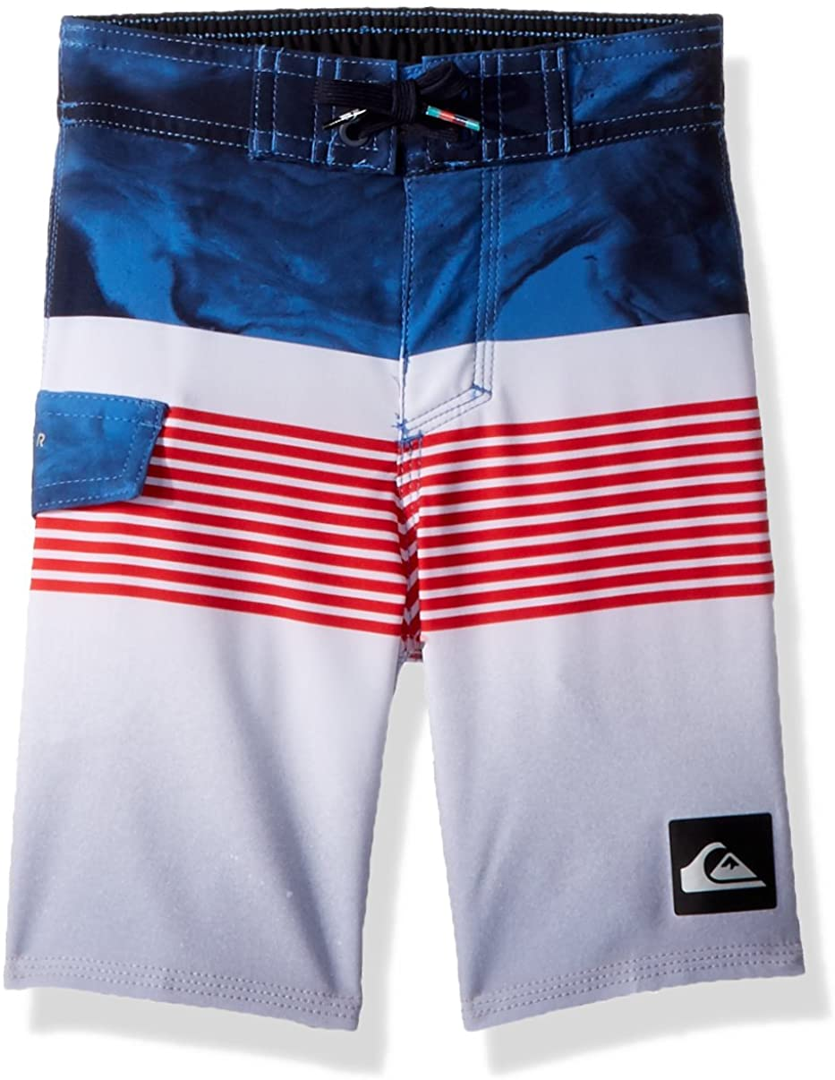 Quiksilver Boys' Little Highline Lava Division Youth Boardshort Swim Trunk