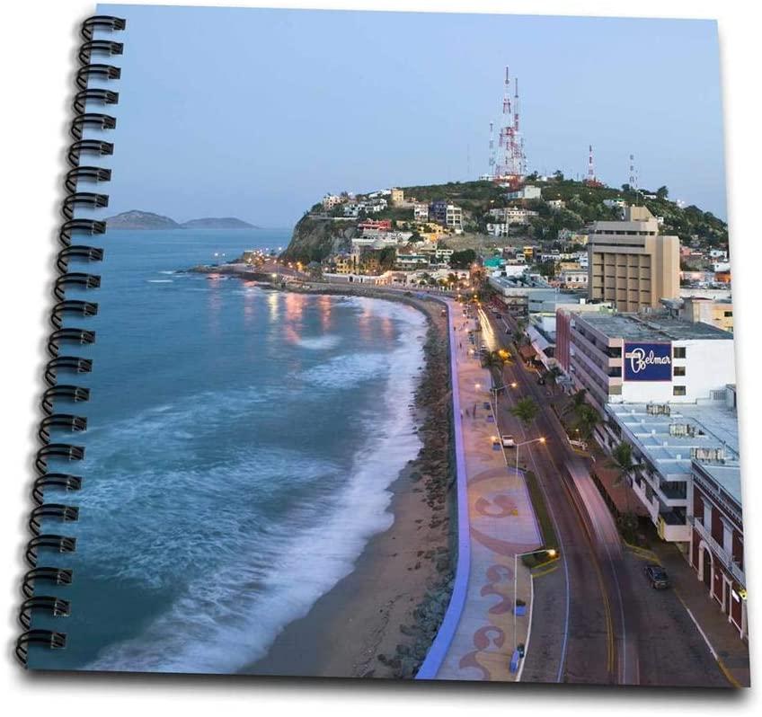 3dRose Mexico, Sinaloa, Mazatlan. Playa Olas Altas - SA13 WBI0171 - Walter Bibikow - Mini Notepad, 4 by 4-inch (db_86830_3)