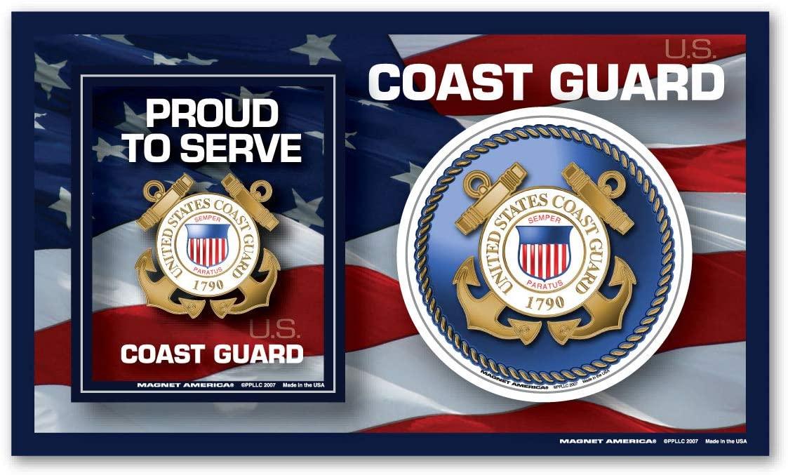 Coast Guard Photo Frame Indoor Magnet