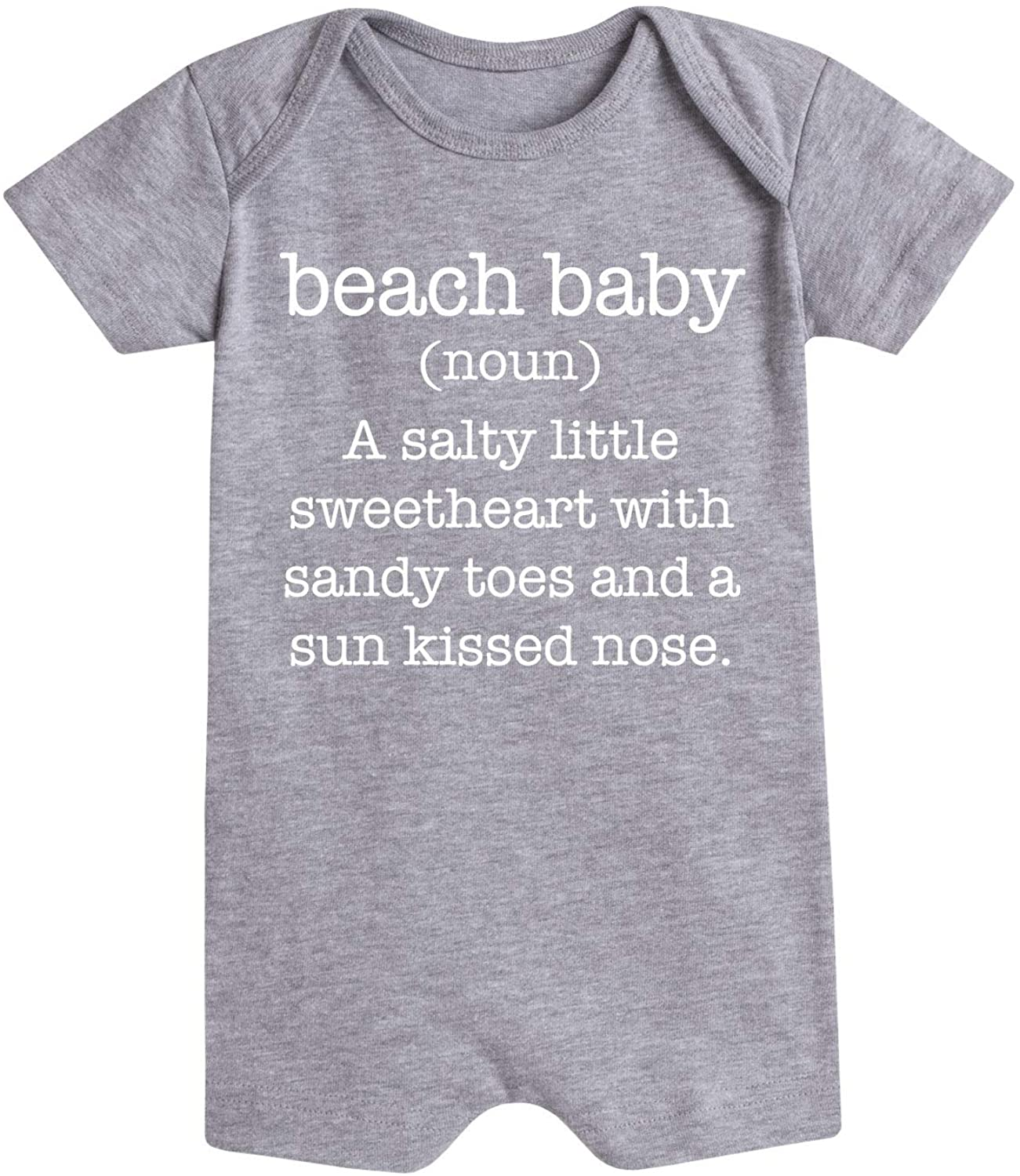 Beach Baby Definition - Infant Romper
