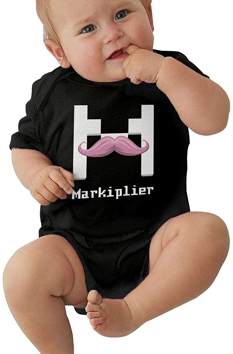 Gaohaifeng8 Markiplier Baby Romper Interesting Baby Bodysuit