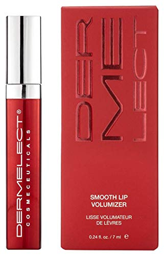 DERMELECT COSMECEUTICALS Smooth Lip Volumizer - Non-Injectable Lip Treatment to Instantly Achieve Fuller, Smoother, Sexier Lips (0.24 Ounce / 7 Milliliters)