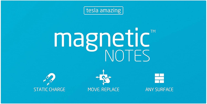 Tesla Amazing Magnetic Notes M-size (100x74)mm (Blue)