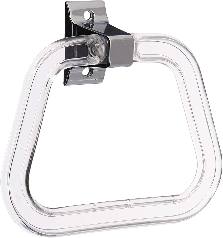 LDR Industries 161 1620 Entrée Towel Ring, Chrome