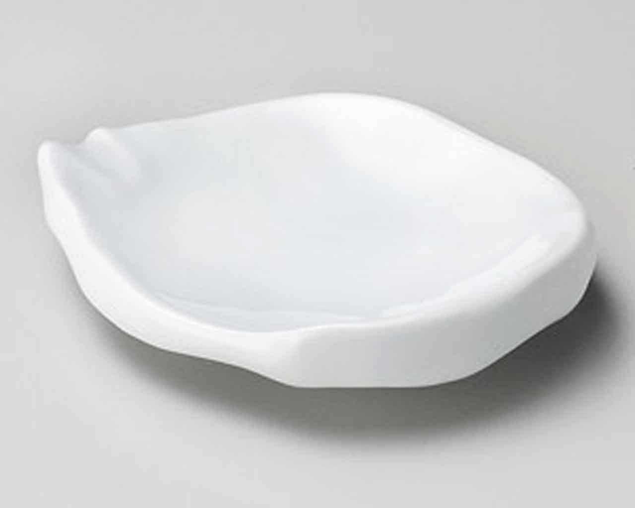 Seiji Chigiri 5.5inch Small Plate White porcelain Made in Japan