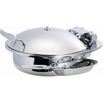 Smart Buffet Ware 1A15300 SMART Large Round Chafing Dish with Stainless Steel Lid