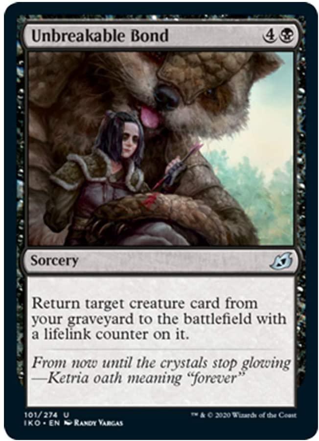 x4 Unbreakable Bond 101/274 Uncommon Ikoria Lair of Behemoths