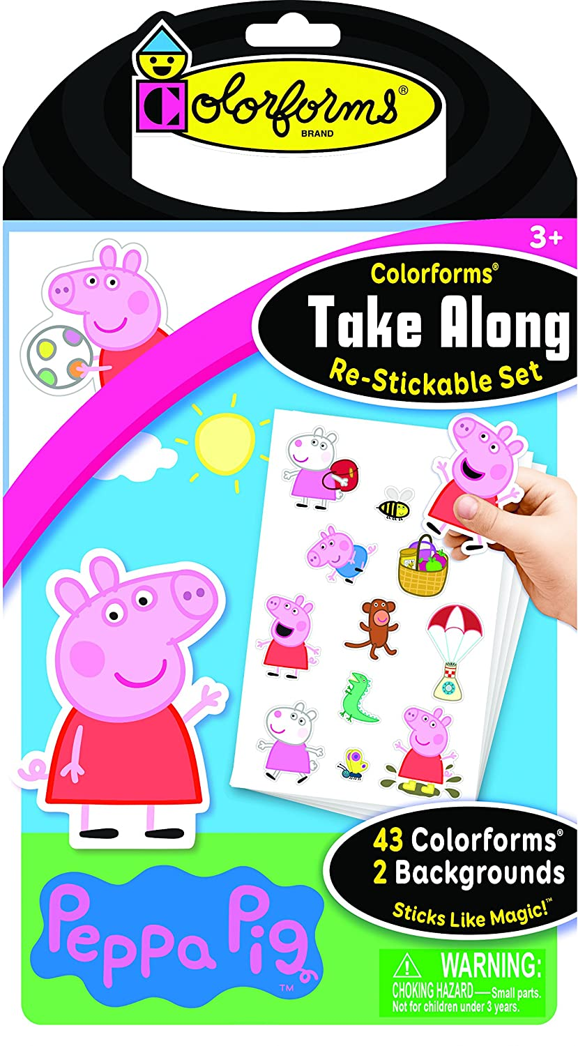 Colorforms Take Along Peppa Pig