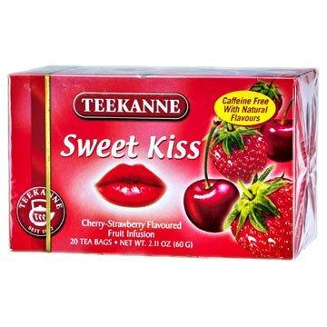 Teekanne Fruit Seduction Sweet Kiss Tea / 20 Tea Bags / 60g / 2.1oz.