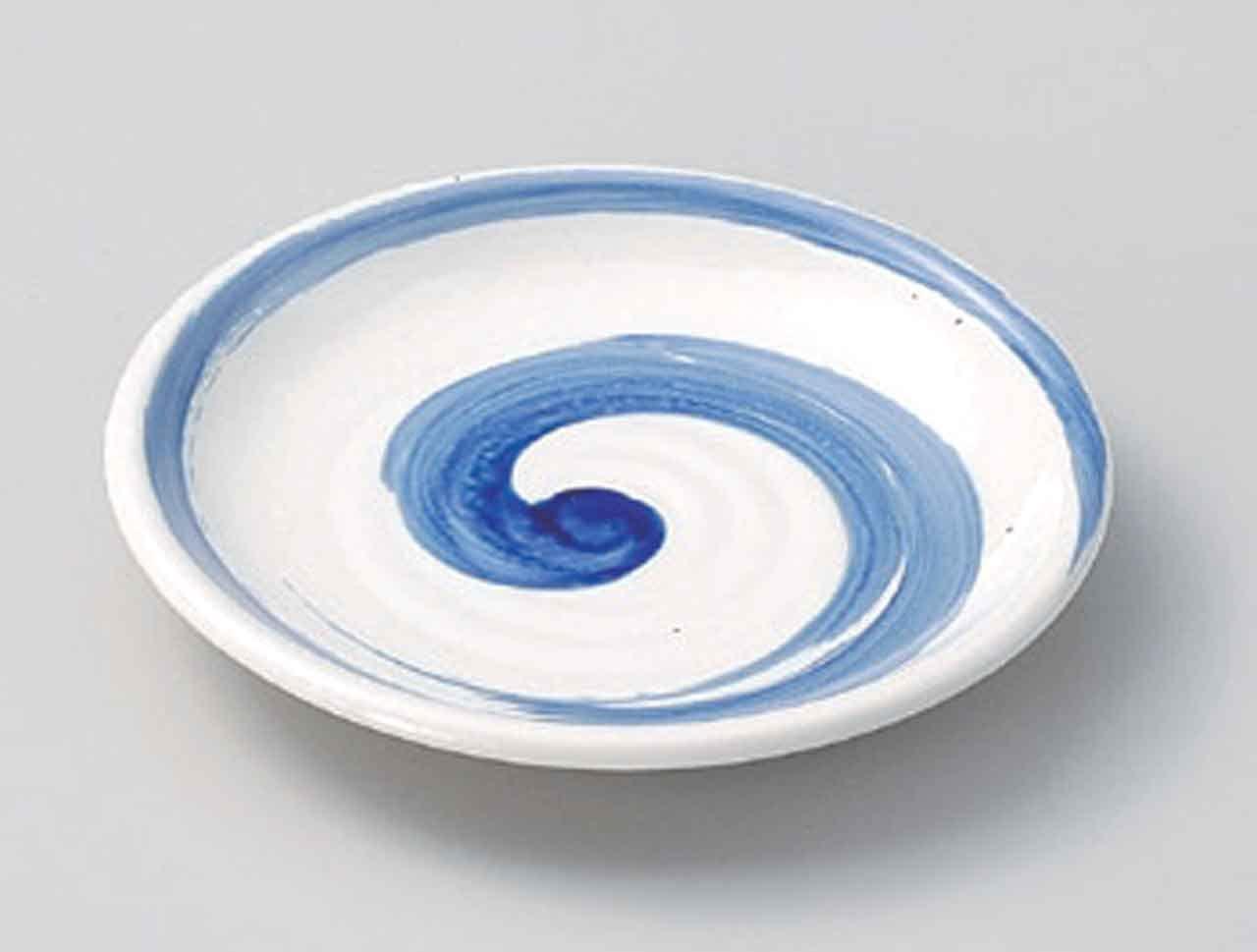 Seiran Kobiki 6inch Set of 5 Medium Plates porcelain Made in Japan