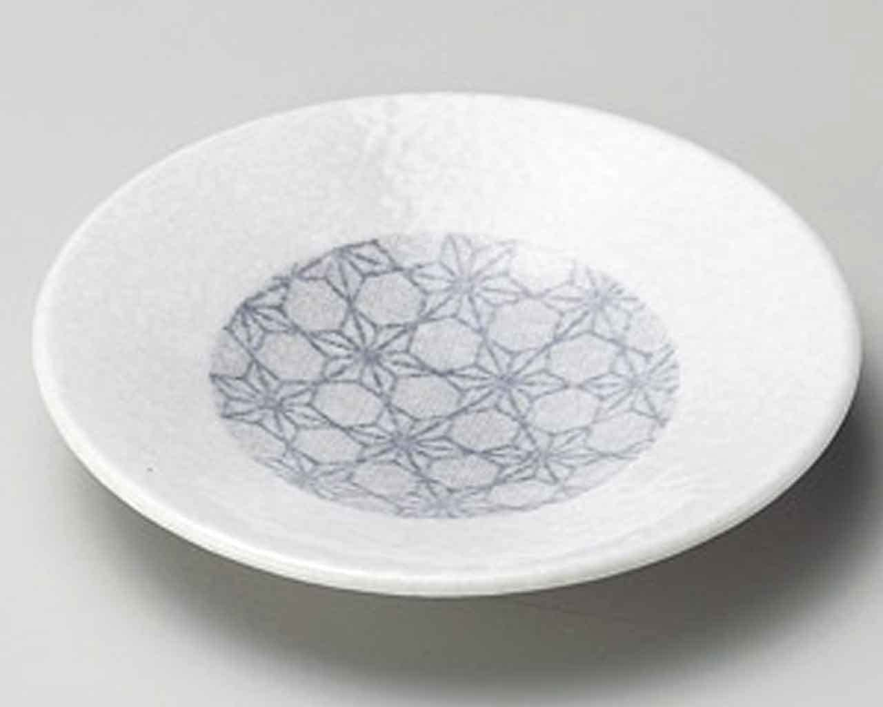 Wabutae 5.7inch Set of 5 Small Plates White porcelain Made in Japan