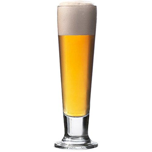Hospitality Glass Brands 41099-012 CIN CIN Tall Beer, 14 oz. (Pack of 12)