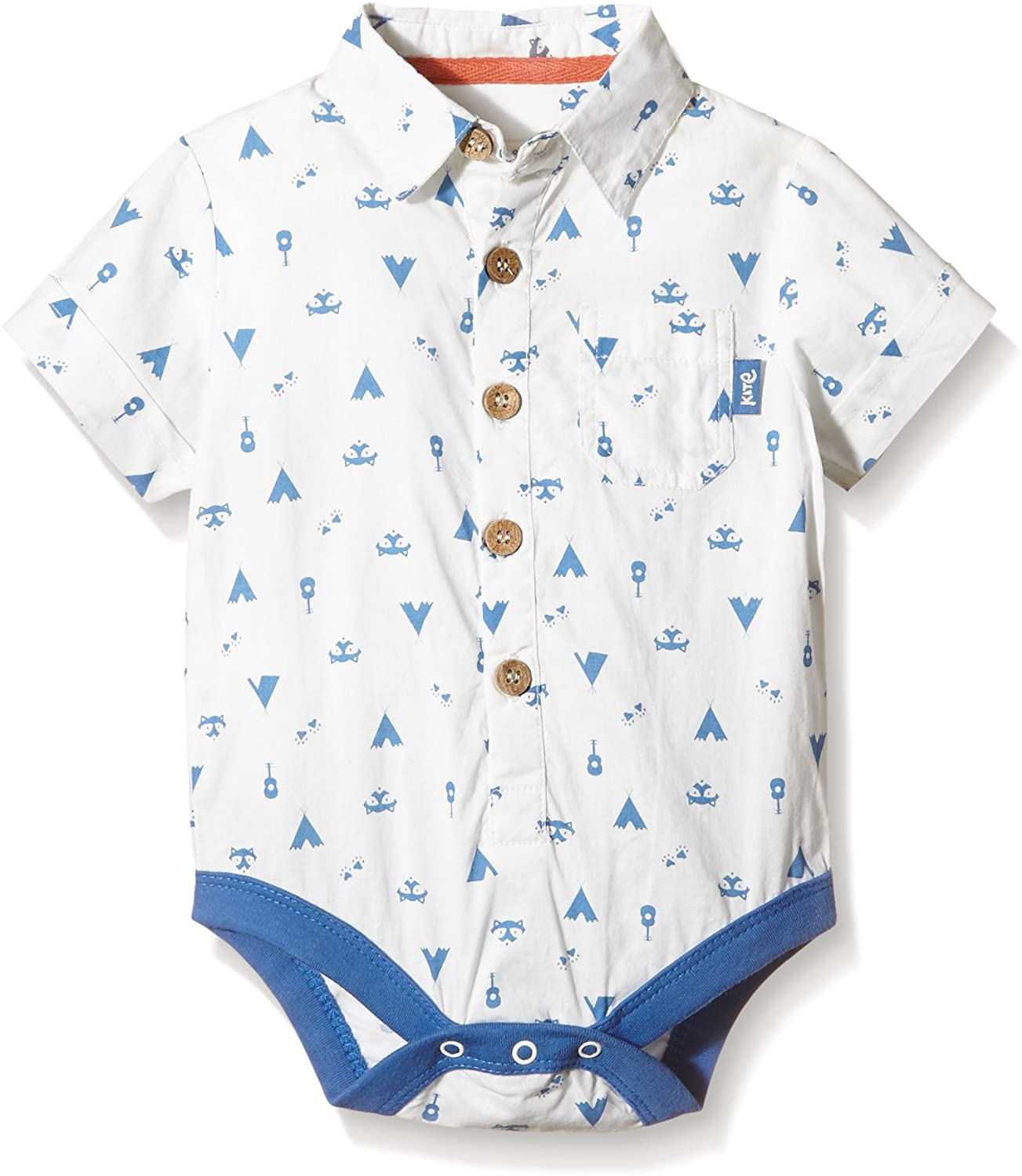 Kite Organic Baby Boy Clothes - Camping Body-Shirt, 18-24 Months / 2-3 Years Old