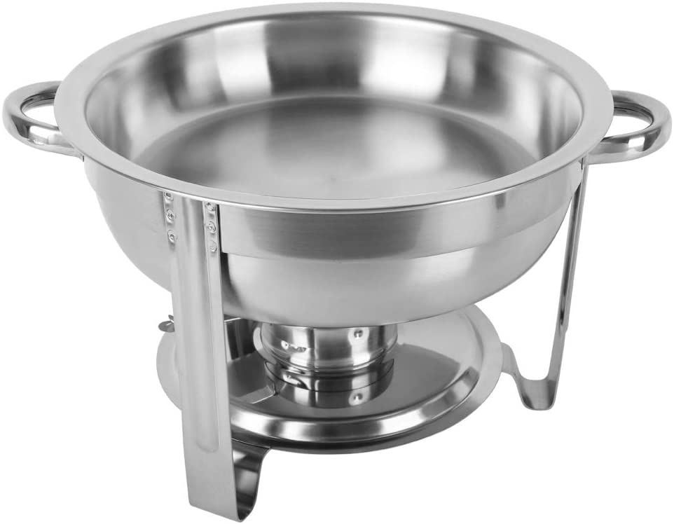 Zebery ZOKOP 5L-12 Single Basin Two Set Stainless Steel Round Buffet Stove