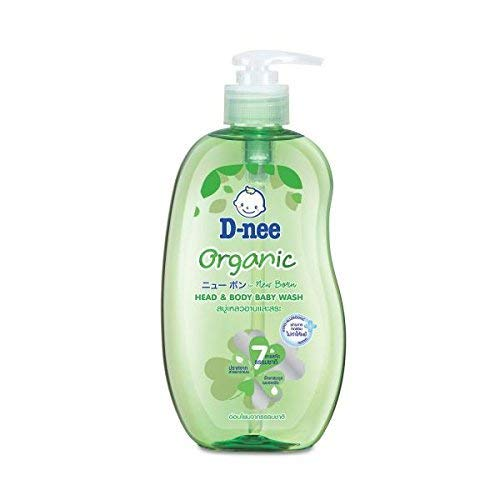 D-NEE ORGANIC FOR NEW BORN HEAD AND BODY BABY WASH SIZE 800 ML.