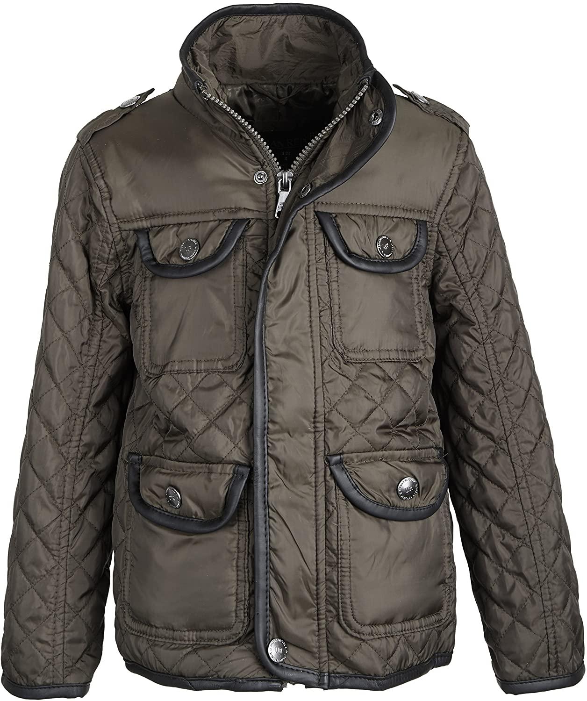 Urban Republic Baby Boys Lightweight Padded Diamond Quilted Spring Jacket