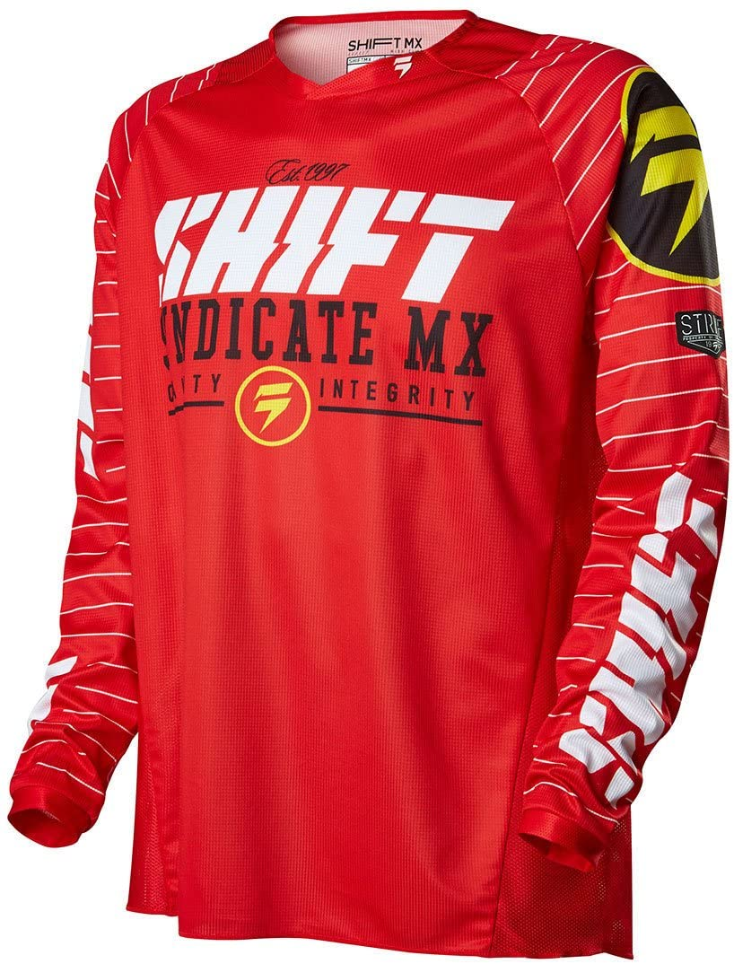 Shift 2016 Strike Jersey-Red-S