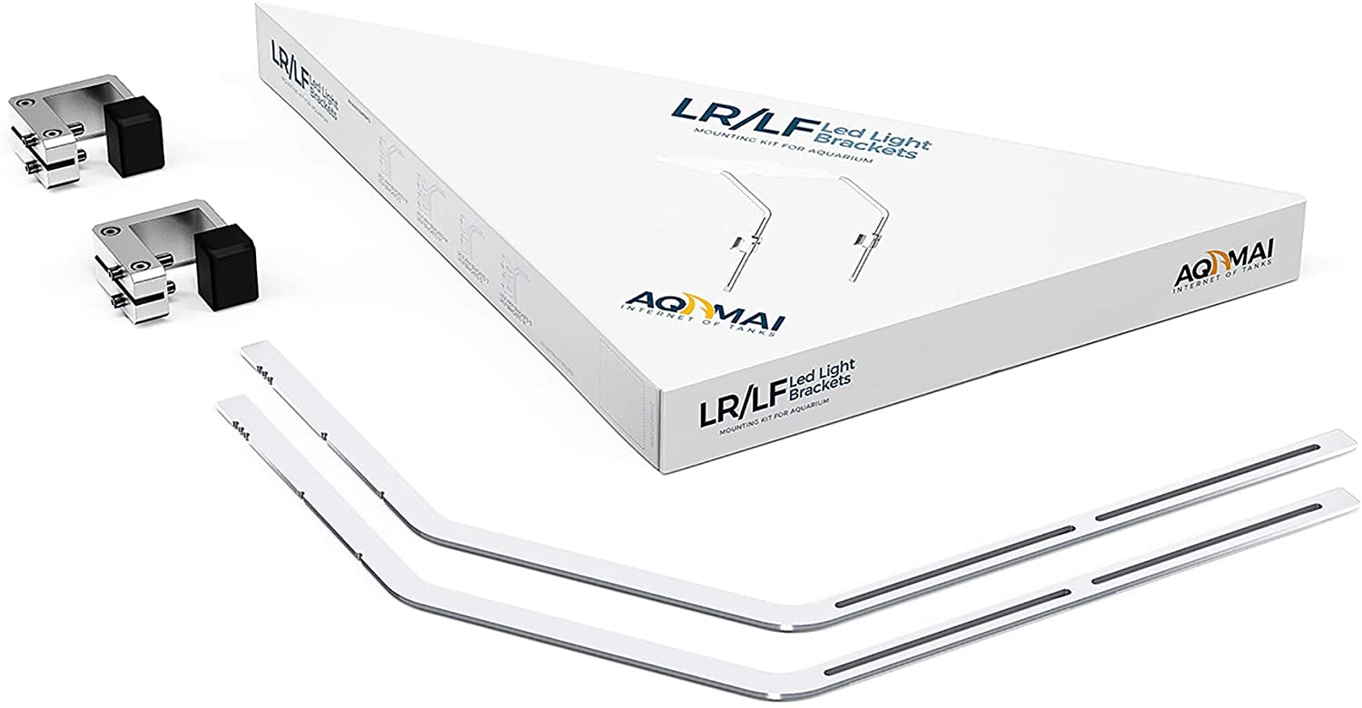 AQAMAI LED Mounting Kit for Aquariums 14-24 Wide - Works with LRM, LRS, LFm & LFS Made by Hydor