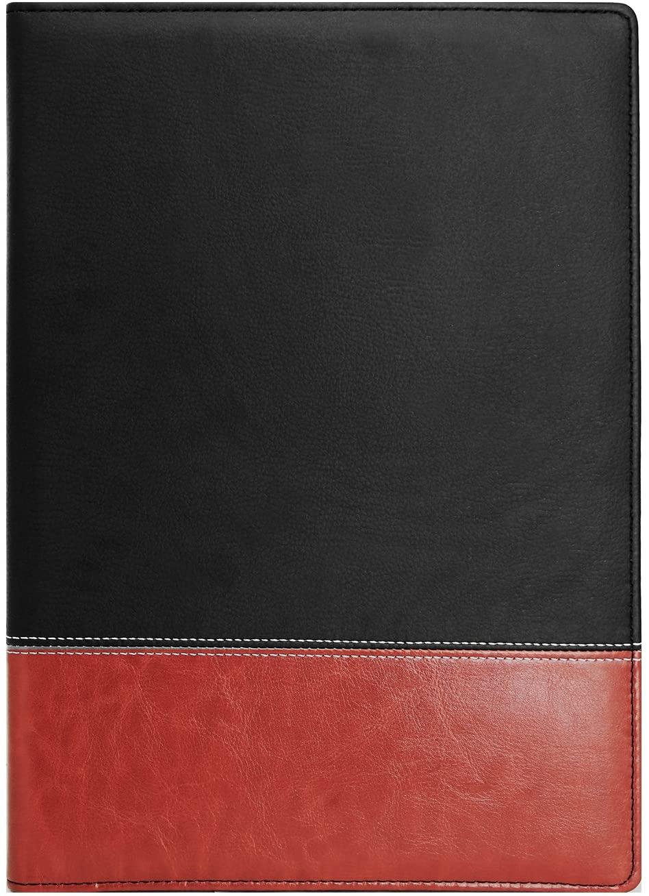Natico Ring Binder, Portfolio, Padfolio Two-Tone 13 x 9.125 (60-PF-14)
