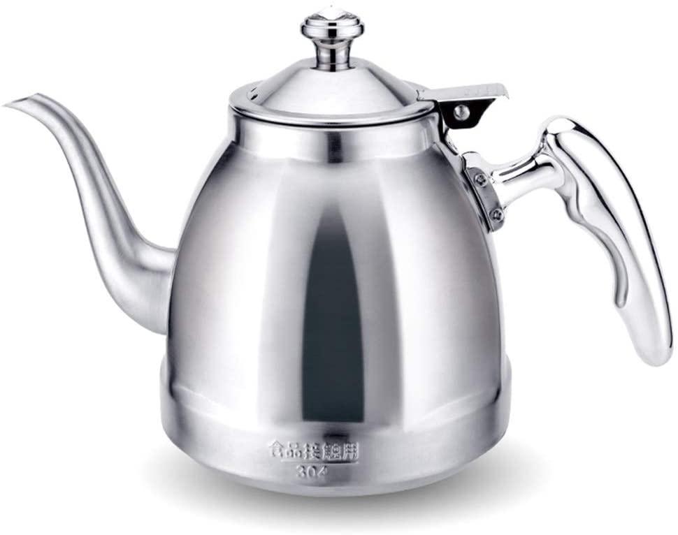 Whistling Teapot Tea Kettle Teakettle Stovetop Gas Hob Induction Hob, 1.5 Litre