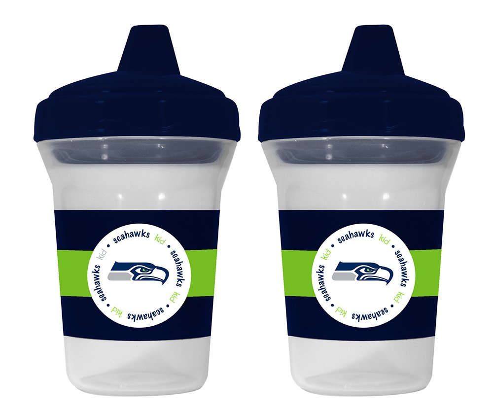 Baby Fanatic NFL Seattle Seahawks Baby Fanatic 2-Pack Sippy Cups