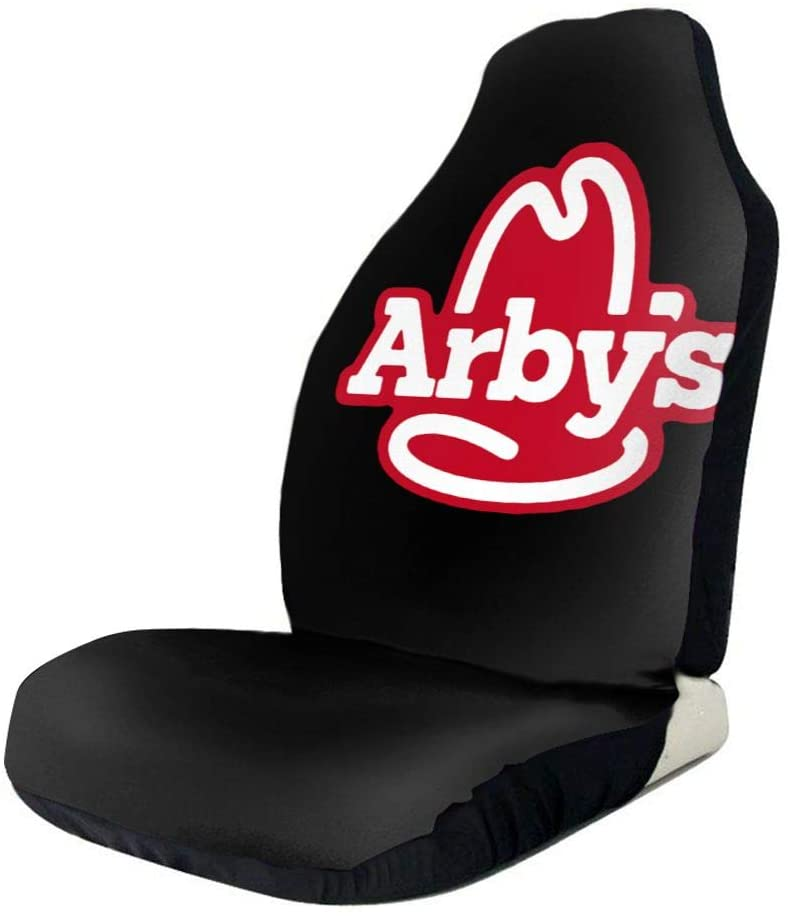 N/C Arby'S Logo Polyester Car Seat Covers