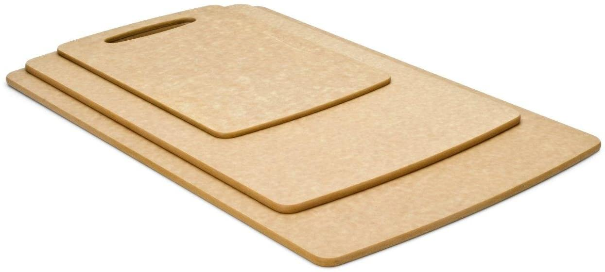 Prep Series Cutting Boards by Epicurean, 3 Piece, Natural (021-3PACK01)