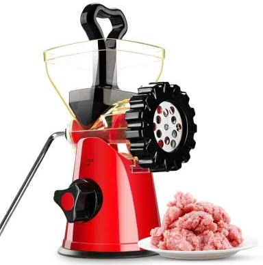 LOSITA Household Multifunction Meat Grinder Stainless Steel Blade Vegetable Pepper Chopper Mincer Sausage Machine