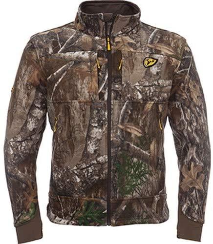 Scent Blocker Adrenaline Jacket, Micro Fleece, Cold Fusion Catalyst, Multiple Pocket Design, Tailored Fit, Adjustable Waist