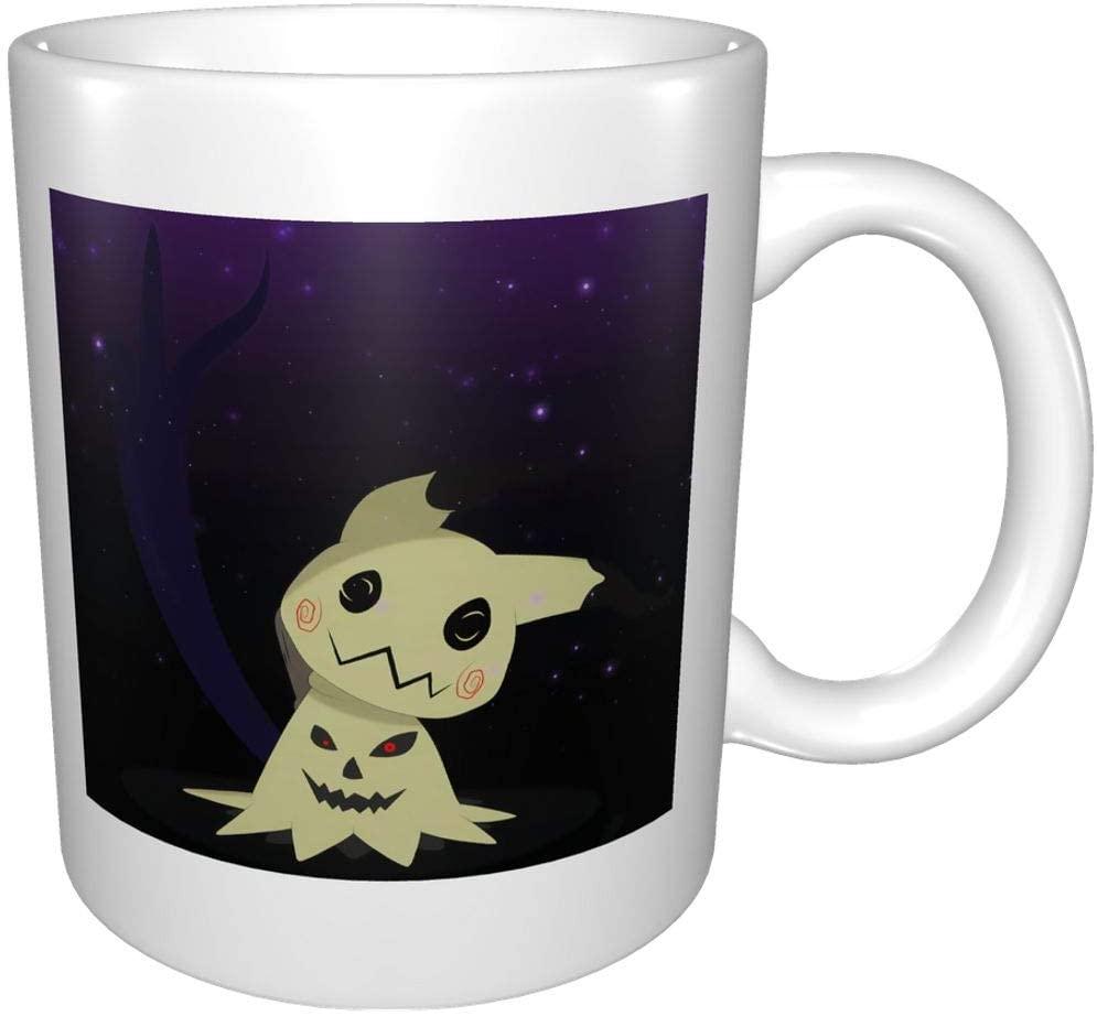 ChristieAHodge Halloween Mimikyu Cup,Mugs,Porcelain Cup,Coffee Mug,Water Cup,Glass Cup,Cup with Handle Nice