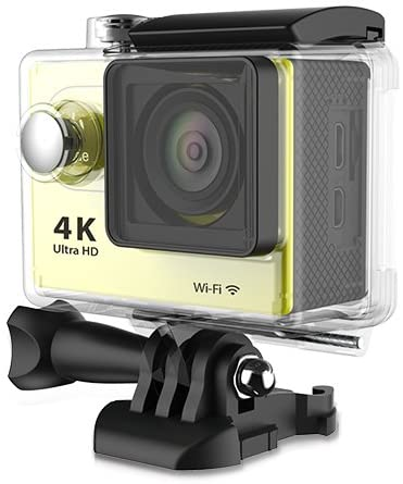 SportCam 4K Digital Sport Camera Yellow