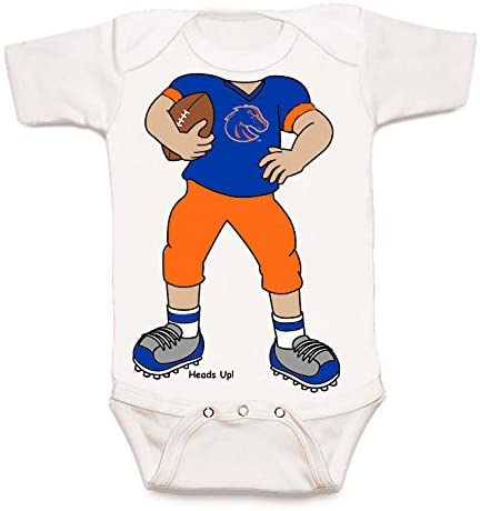 Future Tailgater Boise State Broncos Heads Up! Football Baby Onesie