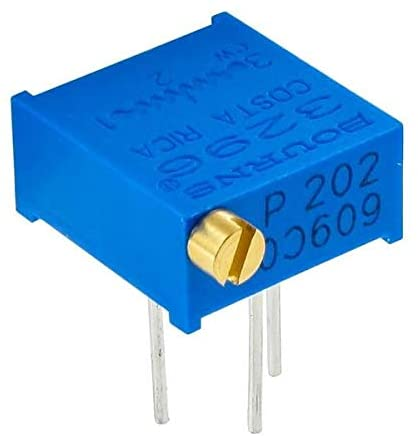 Trimmer Resistors - Through Hole 3/8IN 500 OHM Sealed Horizontal Adjust - Pack of 10 (3296P-1-501LF)