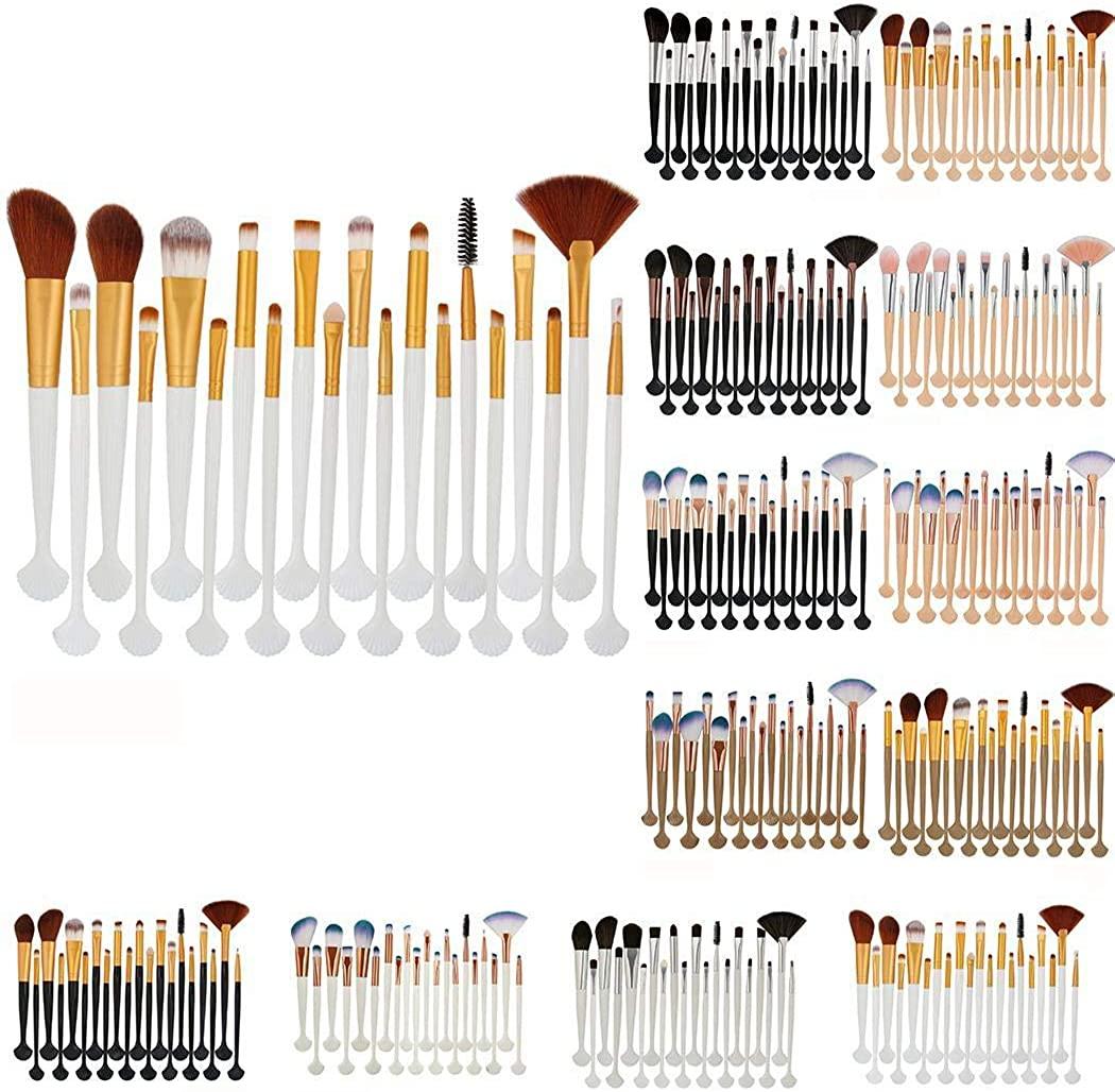 Kentew Women Concealer Foundation Powder Eyeshadow Makeup Brushes Set Blush Brushes